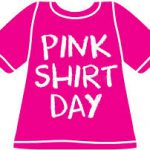 Pink Shirt Day is February 26th 2020