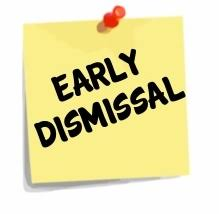 Early Dismissal Day Parent/Teacher Interviews
