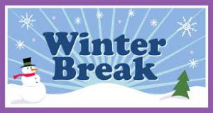 Winter Break - No School!