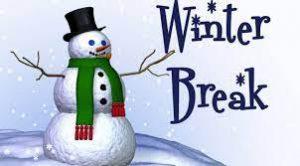 Winter Break (no school)